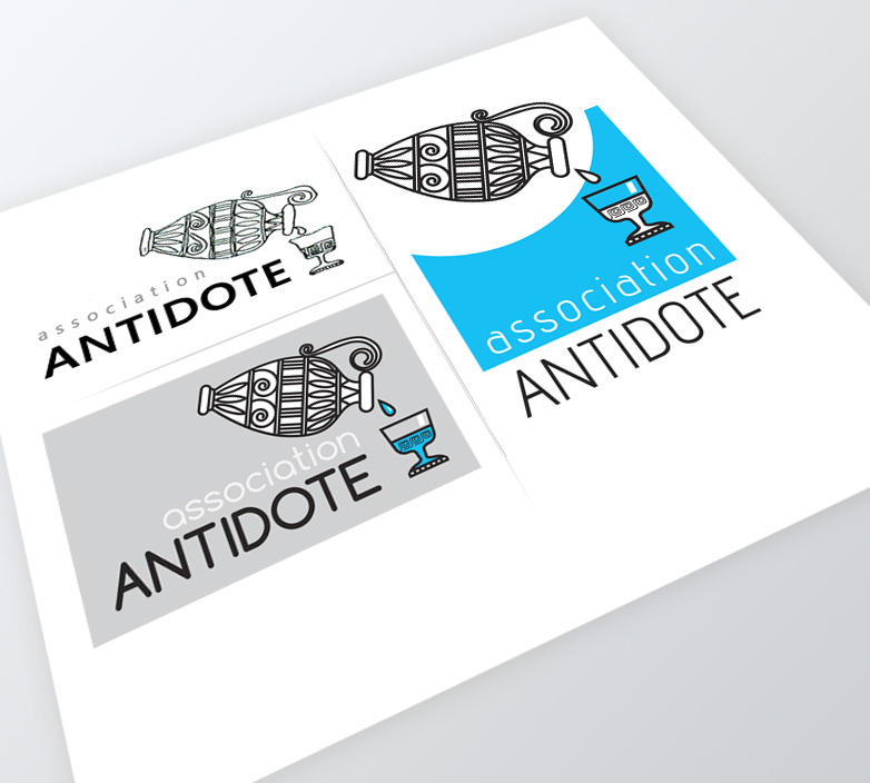 Logo association ANTIDOTE – MODIFICATION DE LOGO