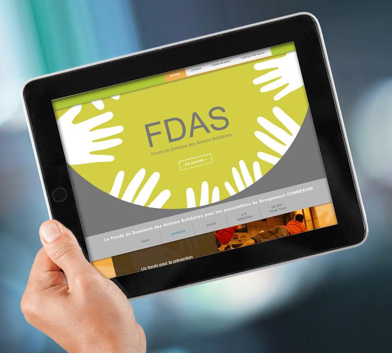 Création du site internet FDAS
