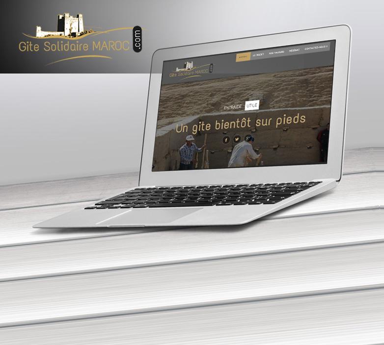 Création du site internet GITE-SOLIDAIRE-MAROC.COM