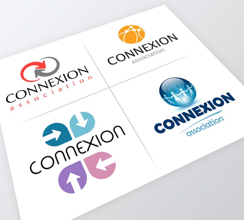 Création du logo de l'association CONNEXION