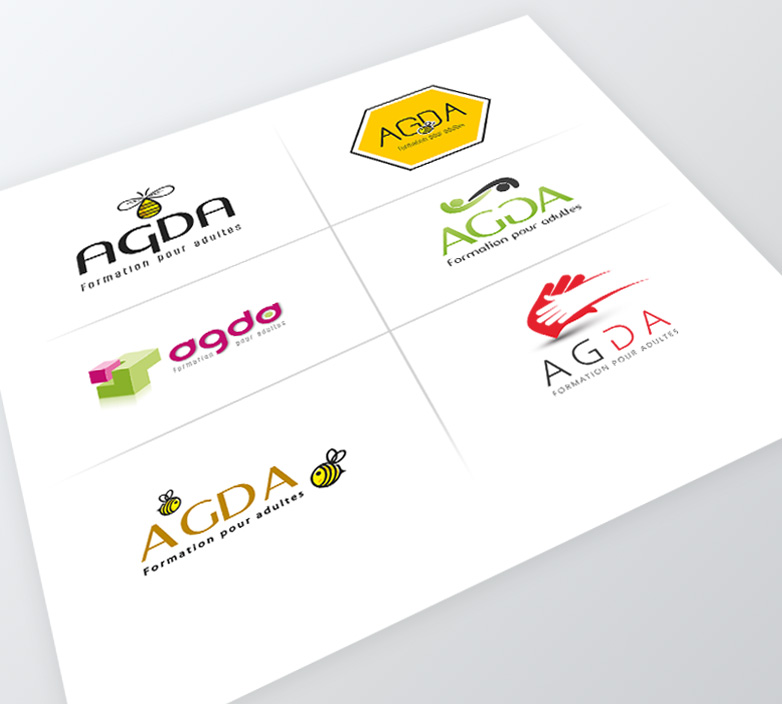 Logo d'AGDA – MODIFICATION DE LOGO